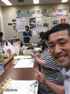 福井県鍼灸師会青年部様オリーブオイルセミナーの様子